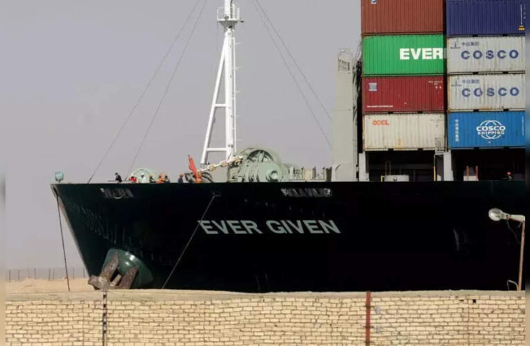 Early agreement reached in dispute over Suez Canal ship – Times of India
